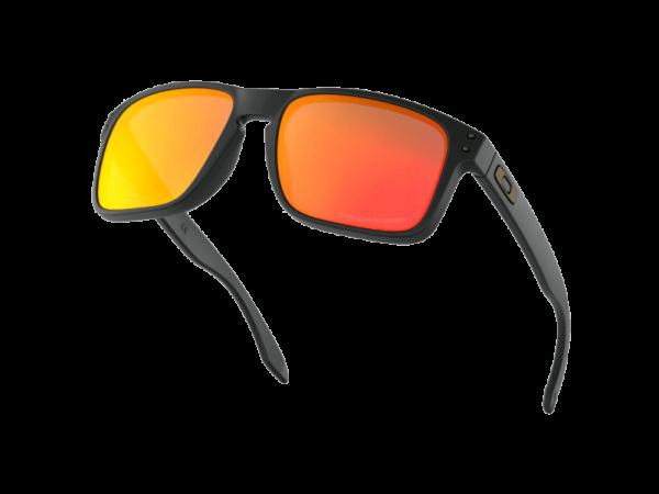 Gafas-de-sol-oakley-holbrook-negro-matte-oo9102-51-ruby-iridium-lentes