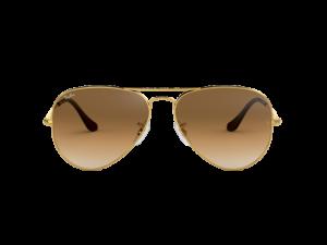 gafas de sol rb3025 001 marco dorado lente café degrade