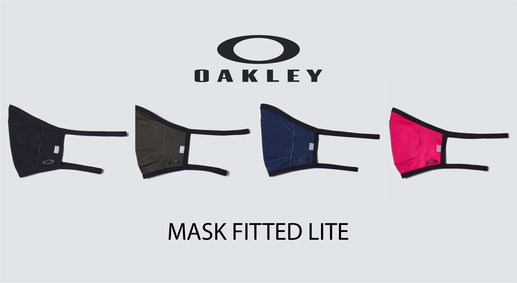 Tapabocas Oakley Mask Fitted Lite