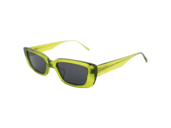 Gafas de sol retro Mesy Weekend Grace marco color verde transparente