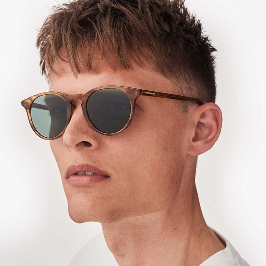 Gafas de sol redondas new depp horn