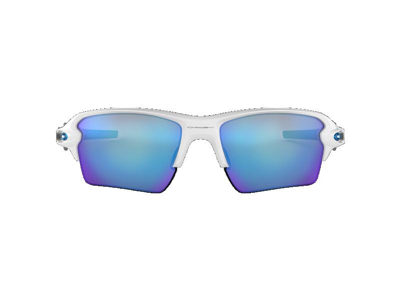 Gafas de sol Oakley Flak 2.0 XL OO9188 9459 Blanca lente azul espejado