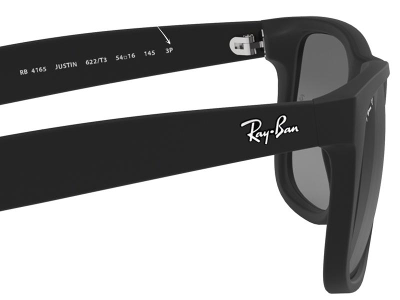 Letra P en gafas