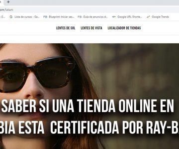 TIenda certificadas Ray-Ban Colombia